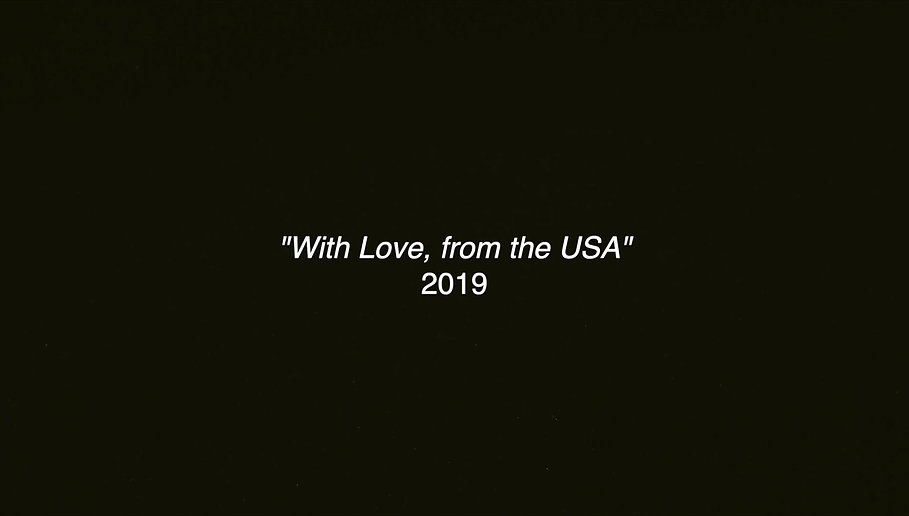"""With Love, from the USA"" is a film that explores culture, identity, patriarchy and the American Dream, but most importantly, it's a film about family. 'Mama' and her 4 biological children, have adjusted to a new life of living in the US together with their eccentric stepfather 'Joe', however things aren't always as smooth as they seem, and there's an unexpected obstacle they must overcome that threatens the security of their family."