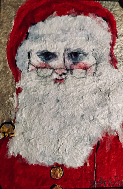 Santa's Watching You! (with glasses)