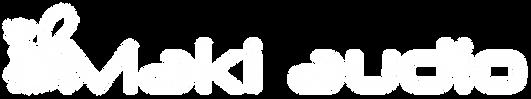 Maki Audio licht en geluid Zeeland logo