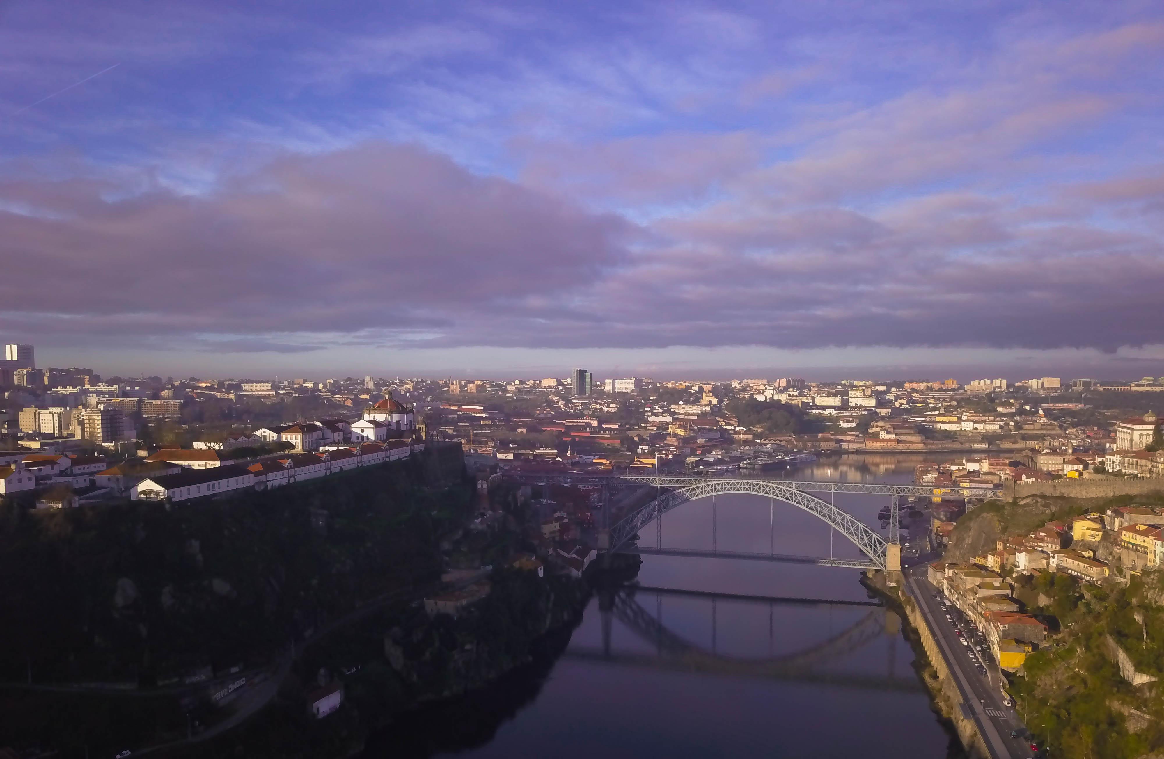 Porto Drone Landscape