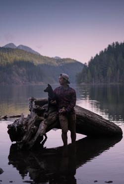 Early Morning Dog Lake