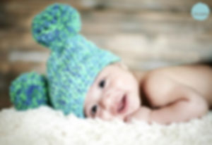 Handmade crochet hat made to order. great for photography
