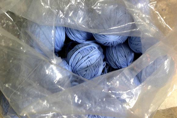חוטי טריקו למכירה תכלת ג'ינסי - 3 קילו