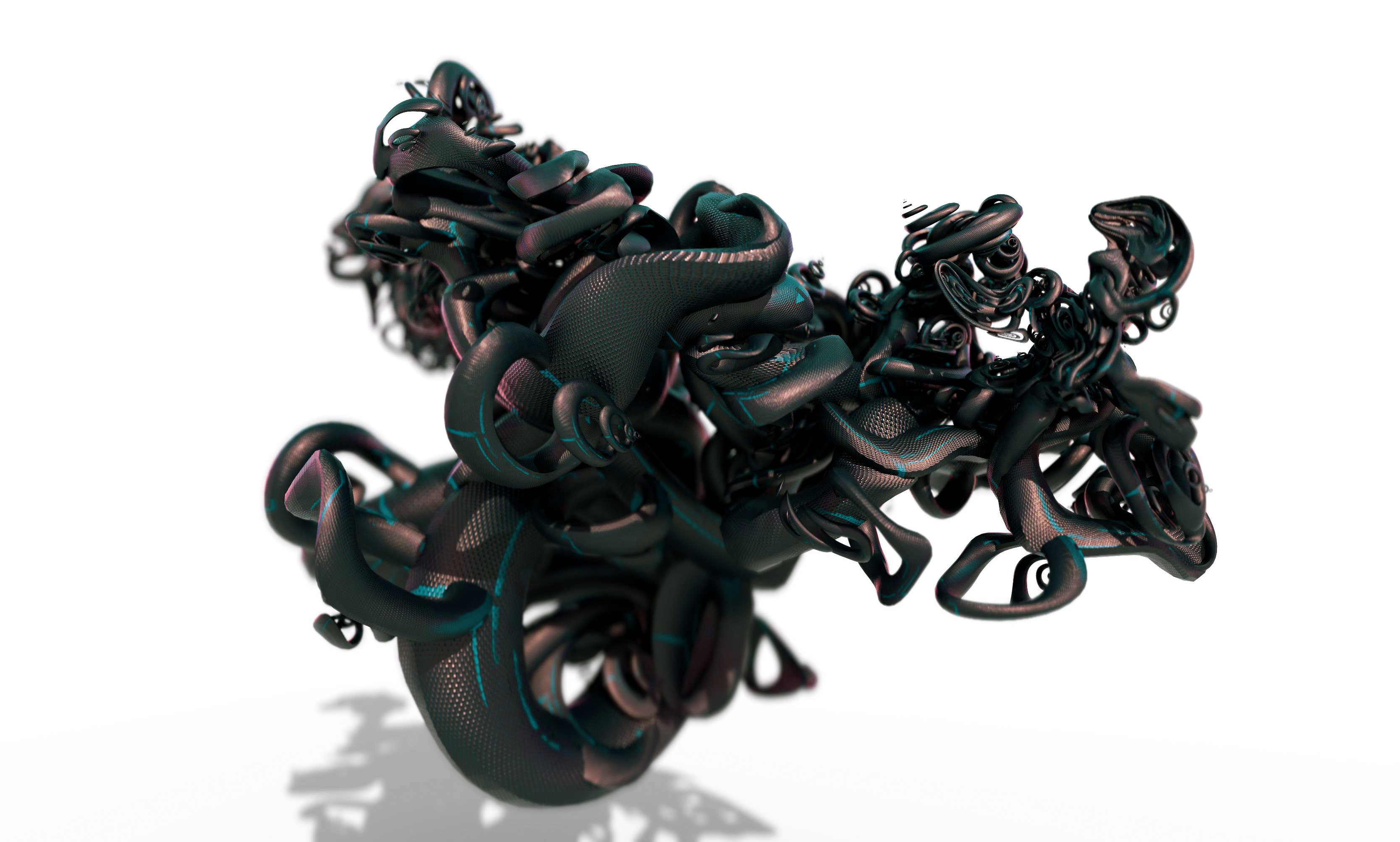 Abstract Sculpture 3D