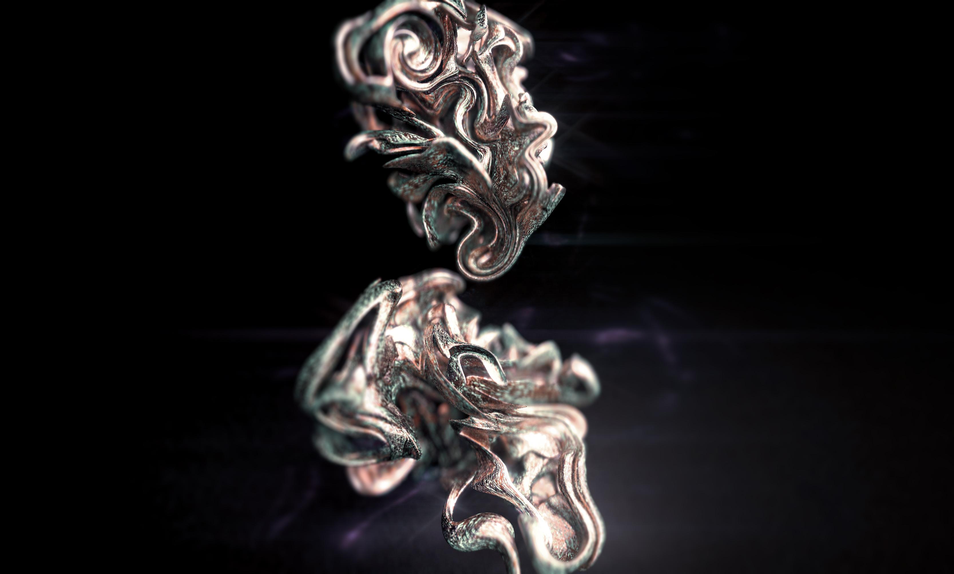 Abstract Sculpture 3D
