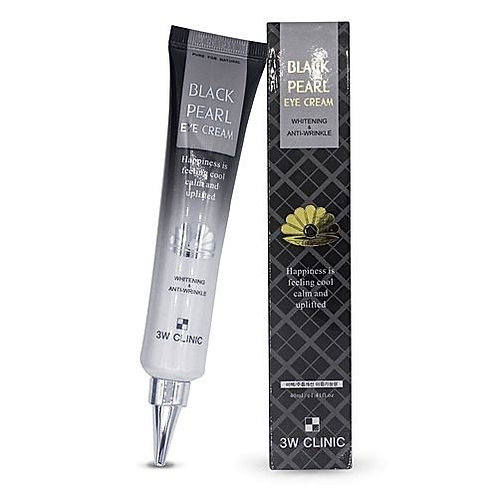 თვალის კრემი 3W Clinic Whitening & Anti-Wrinkle Black Pearl Eye Cream (40 ml)