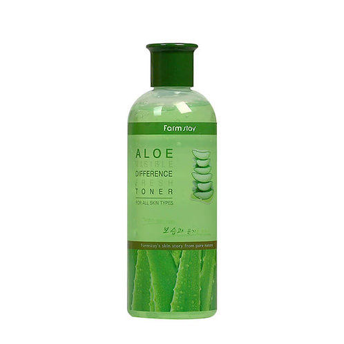 ტონერი FarmStay Visible Difference Fresh Toner Aloe (350 ml)