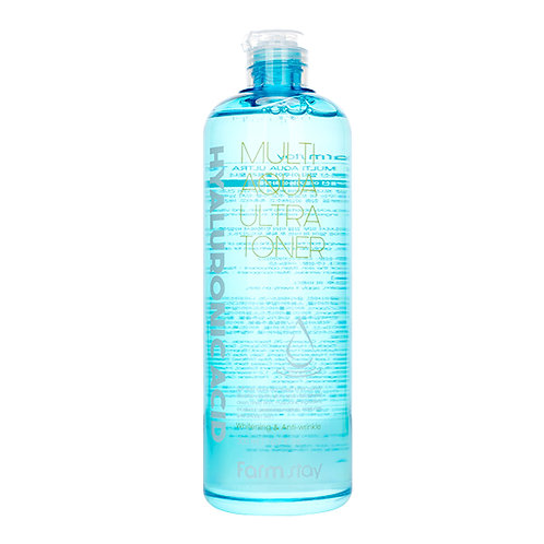 ტონერი Farmstay Hyaluronic Acid Multi Aqua Ultra Toner (500 ml)