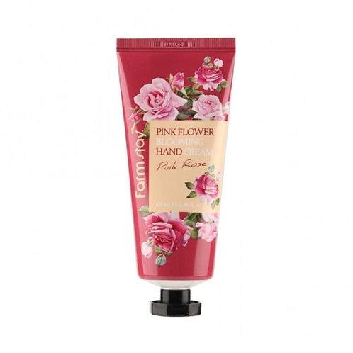ხელის კრემი FARMSTAY Pink Flower Blooming Hand Cream Pink Rose (100 ml)