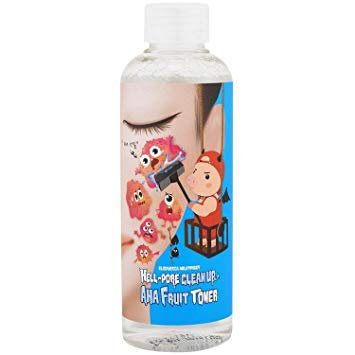 ტონერი მჟავებით Elizavecca Hell-Pore Clean Up AHA Fruit Toner (200 ml)