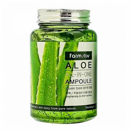 შრატი ალოეს ექსტრაქტით FarmStay Aloe All-In One Ampoule (250 ml)