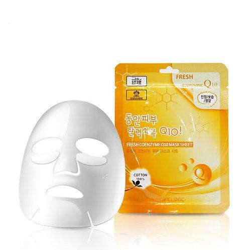 3W Clinic Fresh Coenzyme Q10 Mask Sheet (1ea)