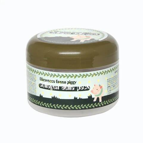 სახის ნიღაბი კოლაგენით Elizavecca Green Piggy Collagen Jella Pack (100 ml)
