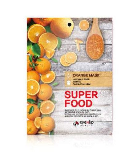 ქსოვილის ნიღაბი EYENLIP Super Food Mask Orange (1 ea)