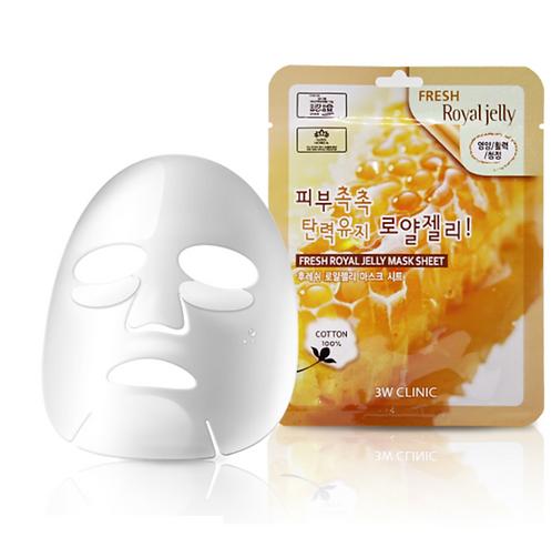3W Clinic Fresh Royal Jelly Mask Sheet (1 ea)