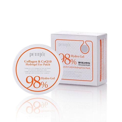 პატჩები Petitfee Collagen & Q10 Hydrogel Eye Patch (60 ea)