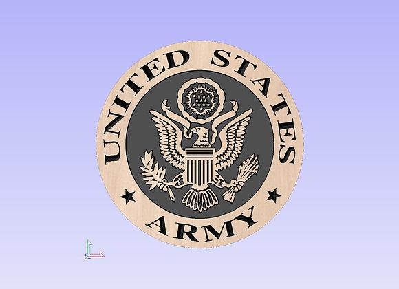 Army Plaque
