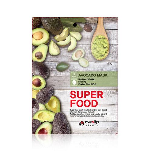 ქსოვილის ნიღაბი EYENLIP Super Food Mask Avocado (1 ea)