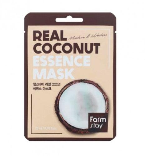 ქსოვილის ნიღაბი FarmStay Real Coconut Essence Mask (1 ea)