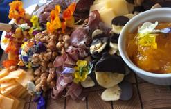 Hawaiian Style Cheese & Charcuterie Board