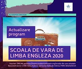 coperta SCOALA DE VARA 2020 COPII LIMBA