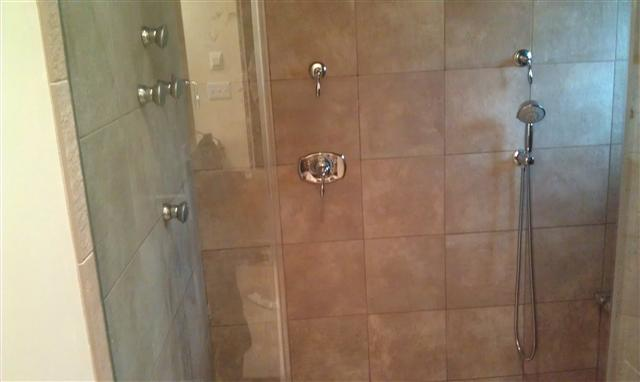 Custom shower systems