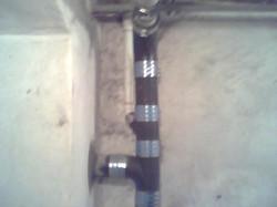 Cast Iron soil pipe repairs