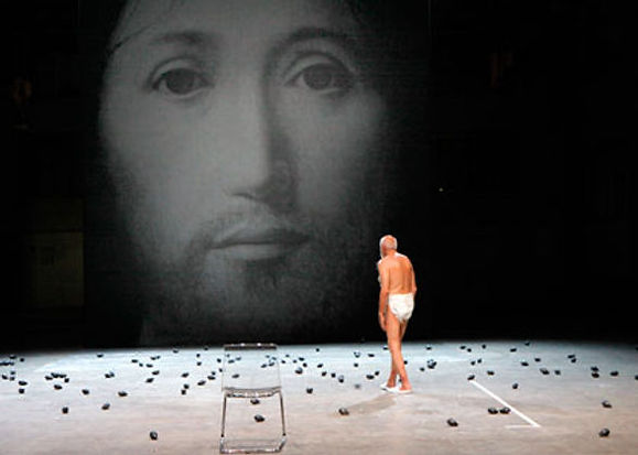 On the Concept of the Face Regarding the Son of God by Romeo Castellucci June 2011