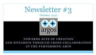 ARGOS Newsletter #03
