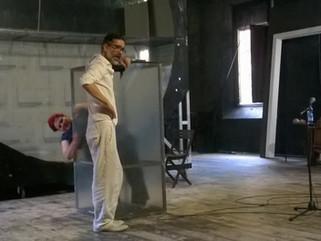 The Orestea rehearsals
