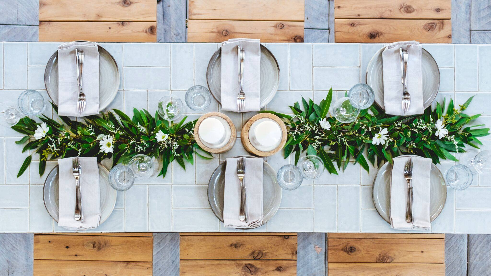 Table photoshoot