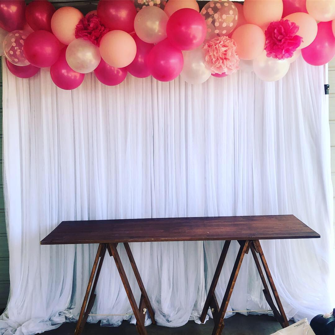 1st Birthday backdrop