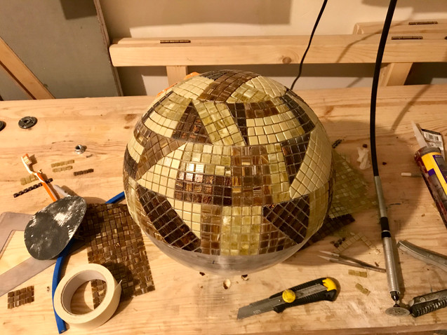 sphere kandinsky mosaique mof