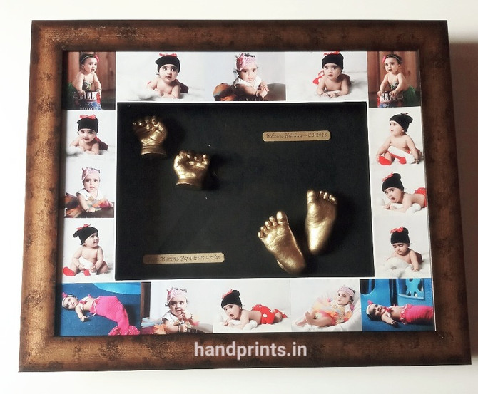 Collage frame for baby Suhani from Agra