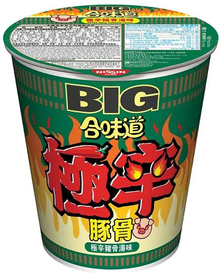 日清 合味道 極辛豬骨味杯麵 (大) 113G