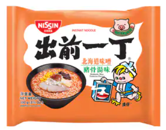 出前一丁 味噌豬骨湯味即食麵 100G