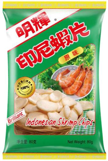 明輝蝦片 原味 80G