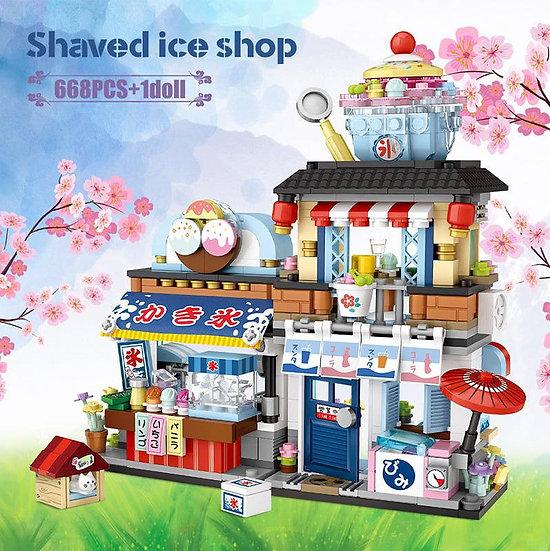 LOZ 迷你顆粒積木 - 刨冰店