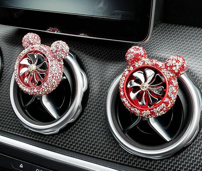 汽車香薰裝飾夾-米老鼠