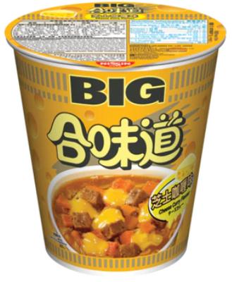 日清 合味道 芝士咖喱味杯麵 (大) 113G