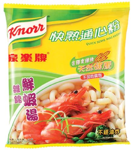 家樂牌 快熟通心粉雜錦鮮蝦湯 80G