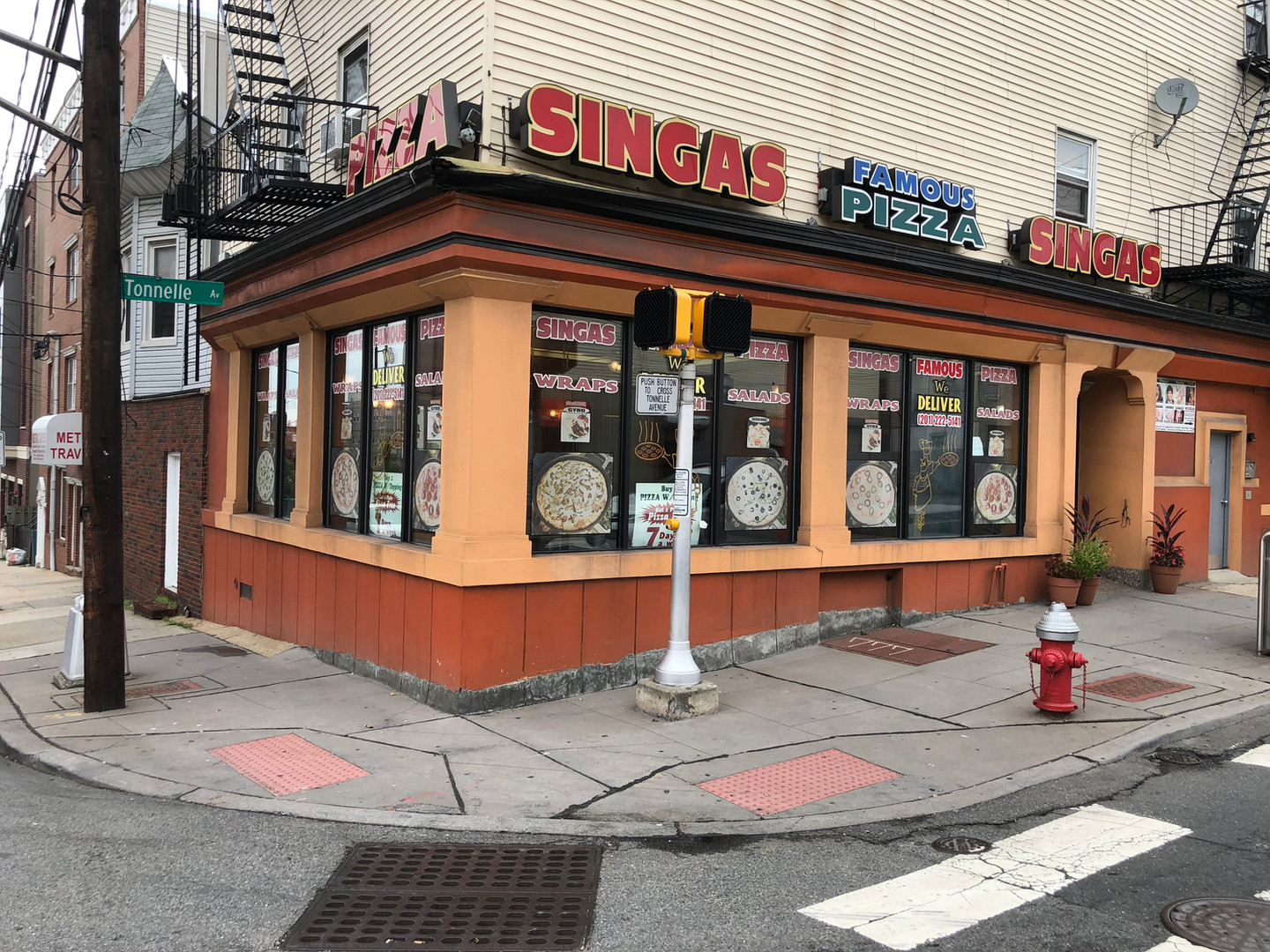 Singas Famous Pizza NJ Jersey City