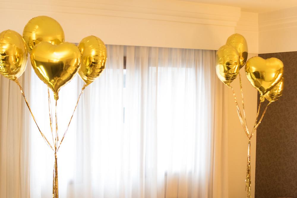 Balões metalizados Inesquecível Surpresa