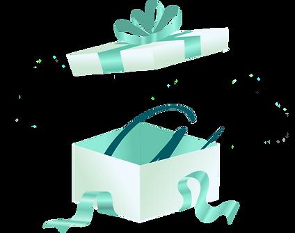caixa presente logo Inesquecível Surpresa®