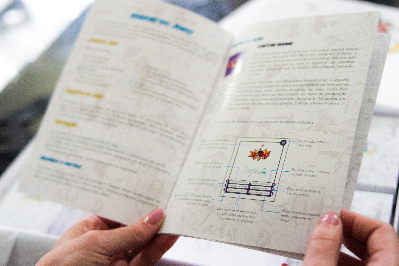 Livro de regras Jogo Nossa História