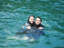 mergulho bombinhas