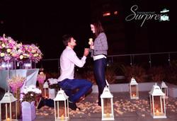pedido de casamento terraço