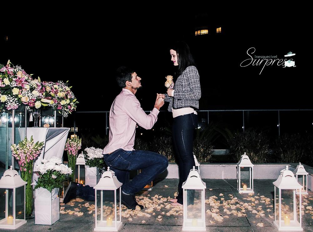 Pedido de Casamento no Terraço no dia dos namorados
