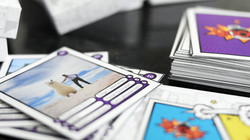 Cartas jogo tabuleiro personalizado