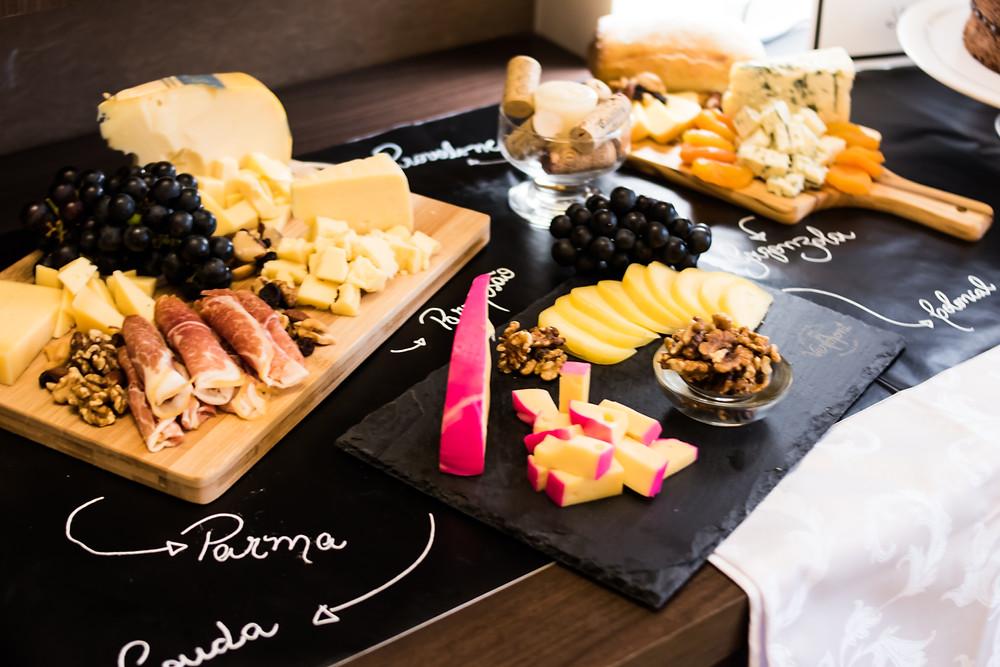 Tábua de queijos Surpresa romântica Inesquecível Surpresa